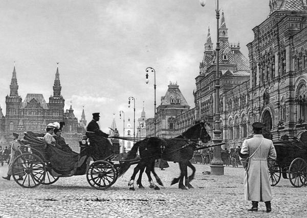 La Place Rouge dans les années 1900